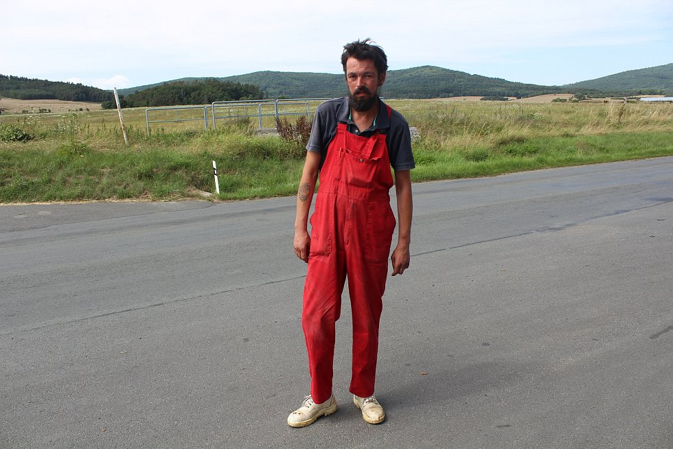 Bývalý bezdomovec Václav Šála z Klatov.