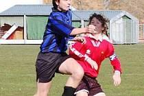 V  prvním  jarním  utkání krajské soutěže žáků Klatovy B porazily  5:0 hosty z Kašperských Hor.