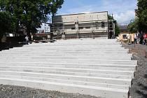 Rekonstrukce letního kina v Klatovech.