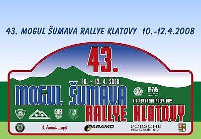 43. ročník Mogul Šumava Rallye Klatovy