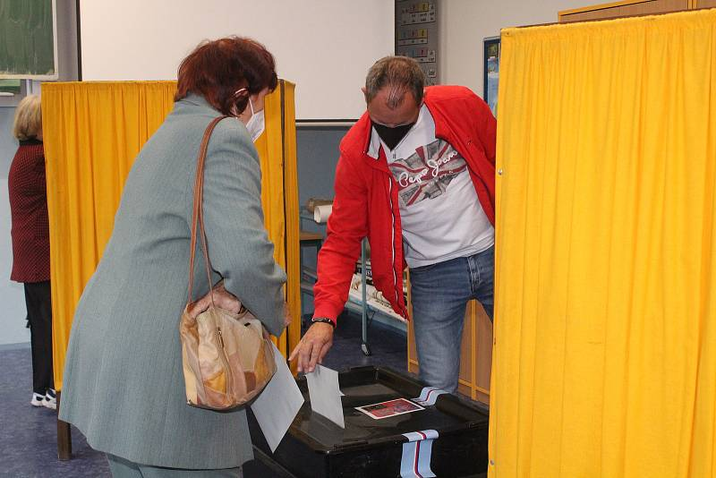 Sněmovní volby v Klatovech 2021.