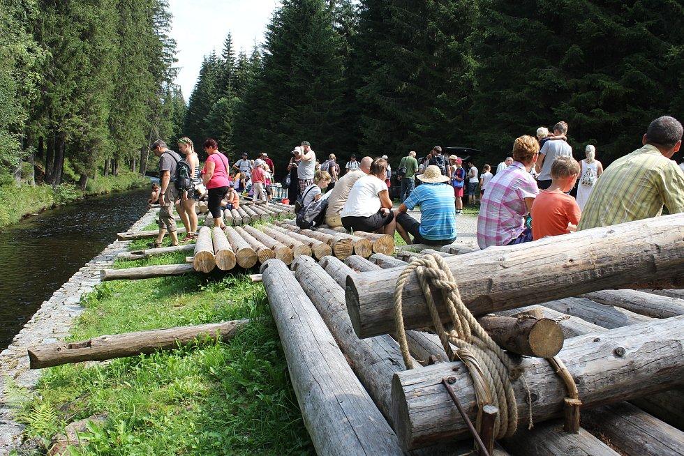 Voraři na Vchynicko-tetovském kanálu