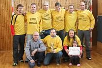 Vyhlášení klatovské Zimní amatérské ligy mužů v sálové kopané 2013/2014.