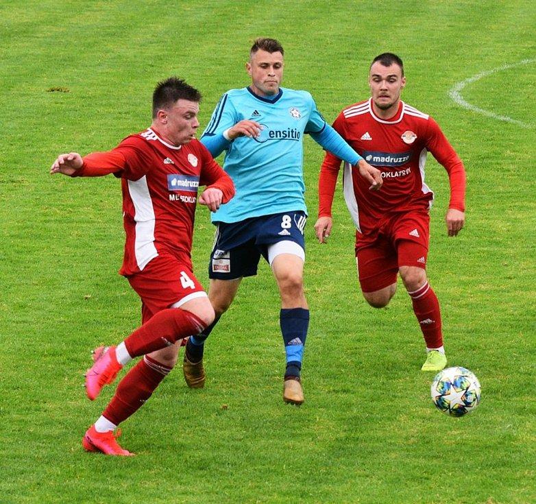 Klatovy (červení) vs. Katovice (příprava).