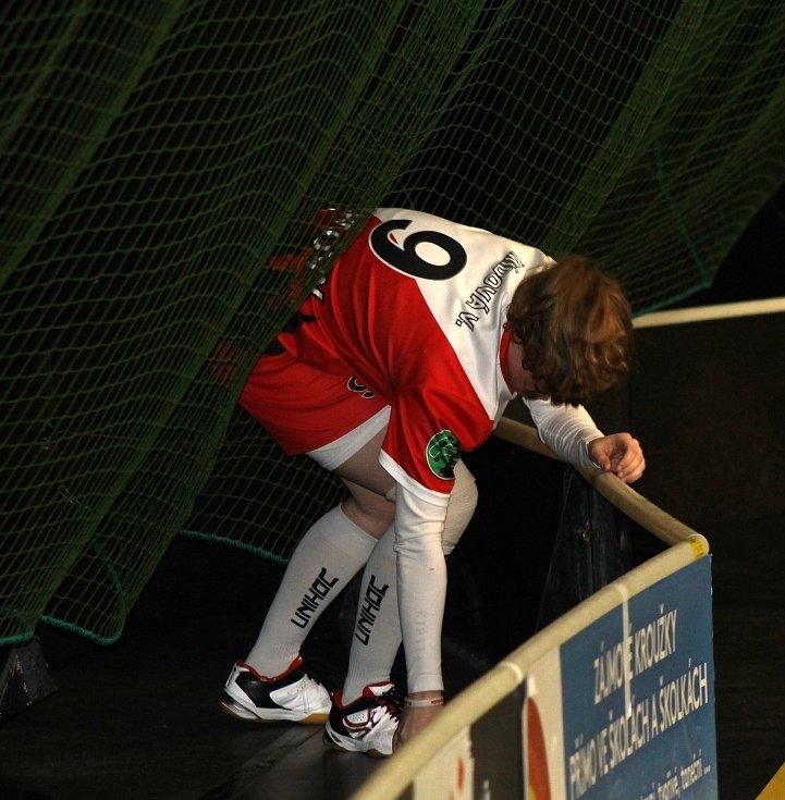Florbalistky Sport Clubu Klatovy.