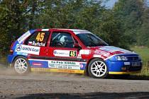 Při kramolínské IC West Historic Nostalgie rallye na Nepomucku doslova zazářila klatovská posádka bratří  Michala a Jana Řeřichových s  Citroënem Saxo VTS 1,6.