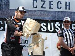V Sušici soutěžili dřevorubci 2016