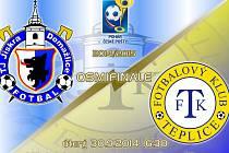 Pozvánka na osmifinále poháru Domažlice - Teplice.