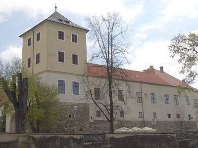 Horažďovice - zámek. Ilustrační foto