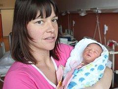 Marie Milková z Měčína (3420 gramů, 54 cm) se narodila v klatovské porodnici 27. prosince v 18.40 hodin. Rodiče Dita a Luděk si pohlaví miminka nechali jako překvapení. Největší radost ze sestřičky měla Anička (5,5).
