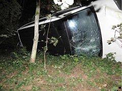Nehoda u Rejštejna.