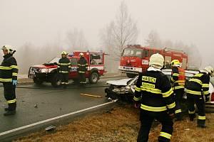 Nehoda na Prášilsku.