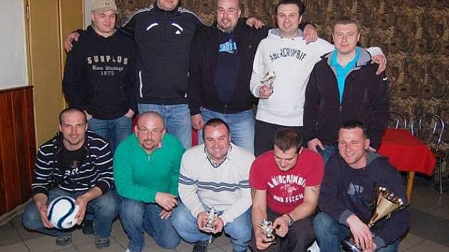 Vyhlášení výsledků Zimní amatérské ligy v sálové kopané mužů