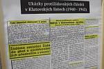 Zahájení výstavy Židé a transporty na Střední škole průmyslové Klatovy