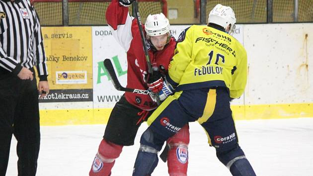 2. liga 2016/2017: SHC Klatovy (červené dresy) - HC BAK Trutnov 5:3