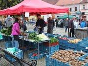 Říjnové farmářské trhy v Sušici.
