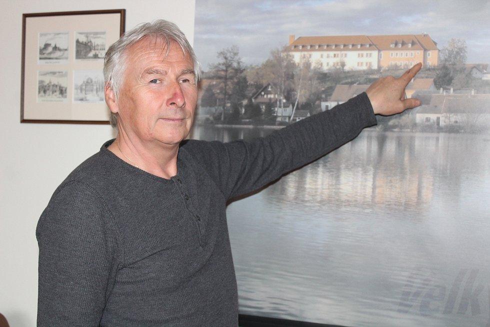 Starosta Velkého Boru Václav Zábranský.