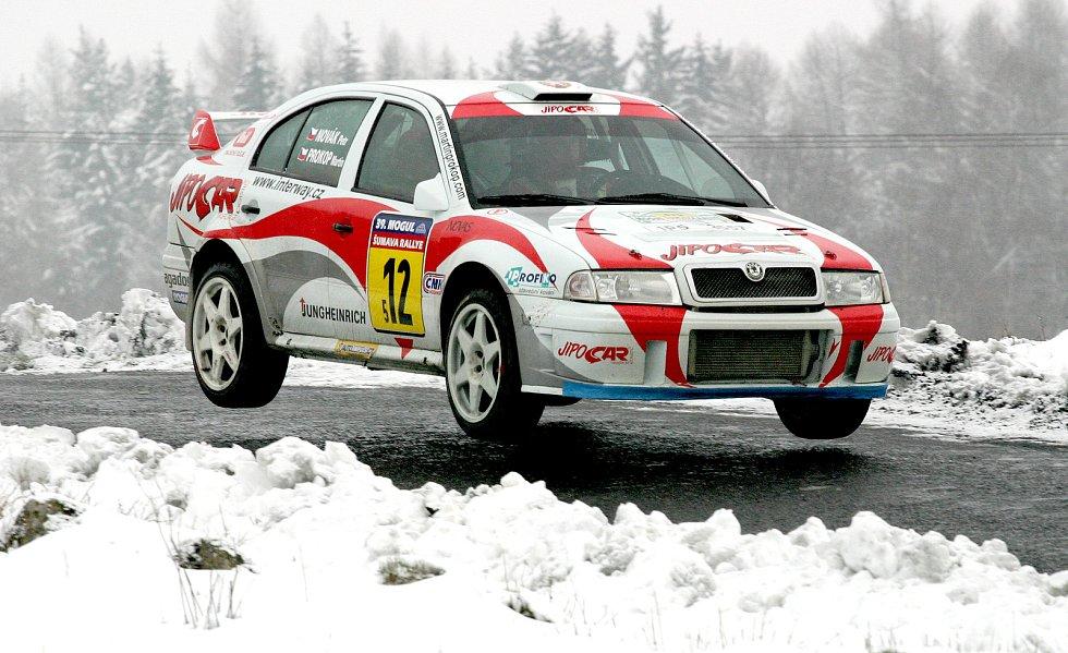 Rallye v Klatovech.