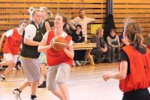 Okresní finále v basketbalu středních škol a učilišť dívek