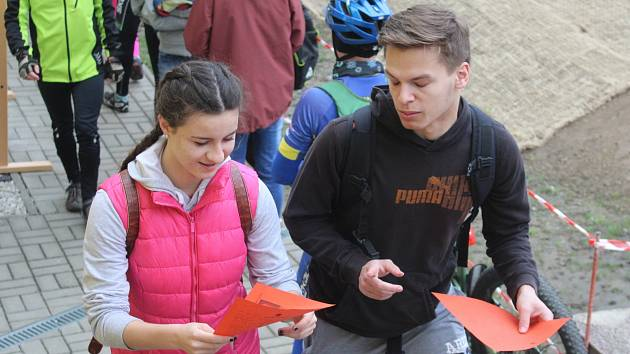 V sobotu 8. dubna se v Klatovech konal pochod Gymnaziální padesátka.