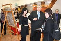 Slavnostní otevření nových ateliérů v Horažďovicích