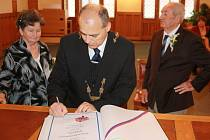 Věra Kubíková a Karel Kubík - Diamantová svatba 17. 11. 2012