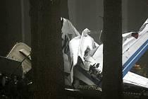 Na Šumavě se zřítilo malé letadlo