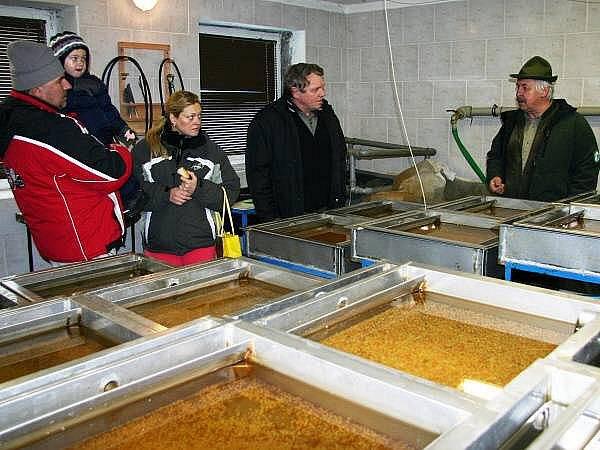 Rybí líheň Správy NP a CHKO Šumava