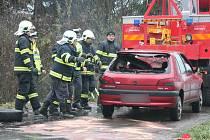 Tragická nehoda u Tedražic