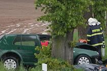 Tragická nehoda u Hradešic, při níž v květnu zemřeli dva lidé a další byli těžce zraněni.