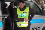 Policisté na Šumavě vyrazili na kontrolu lyžařských stop
