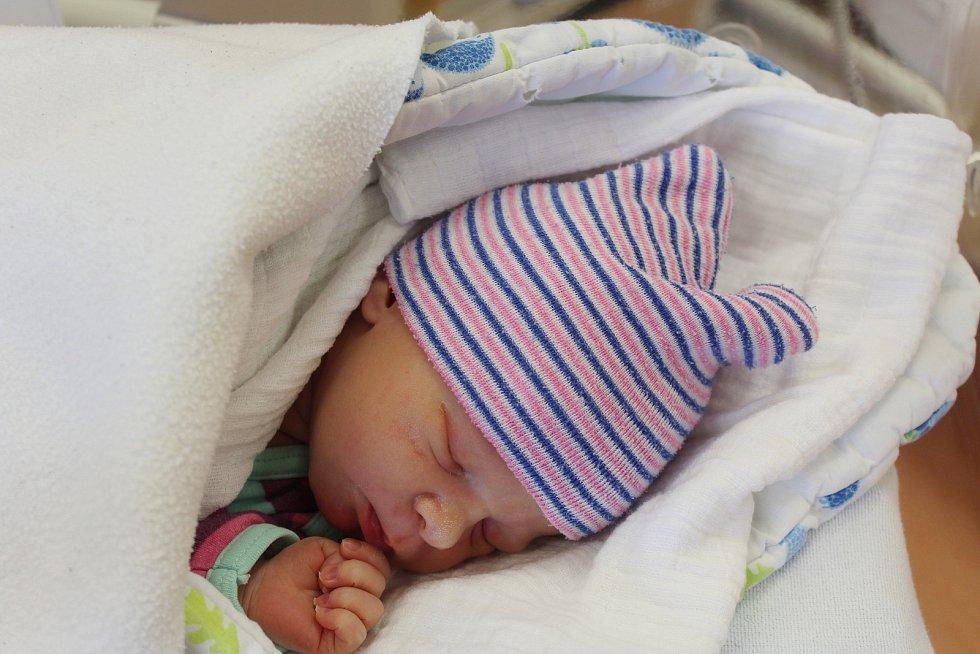 Julie Terčová zNeznašov se narodila vklatovské porodnici 6. září v19:40 hodin (3180 g, 50 cm). Pohlaví svého prvorozeného miminka věděli rodiče Jana a Karel dopředu.