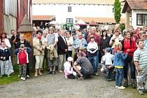 O akxci na tvrzi je mezi návštěvníky každoročně velký zájem.