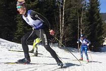 Jan Šrail vybojoval na mistrovství ČR v Horních Mísečkách zlatou medaili ve sprintu