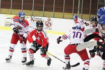 Česká hokejová reprezentace do 16 let změřila v Klatovech síly s vrstevníky ze Švýcarska.