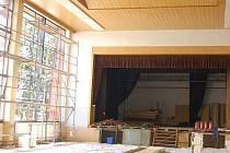 Opravy kulturního domu ve Švihově