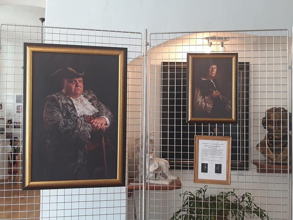 Výstava foto obrazů v Chudenicích.