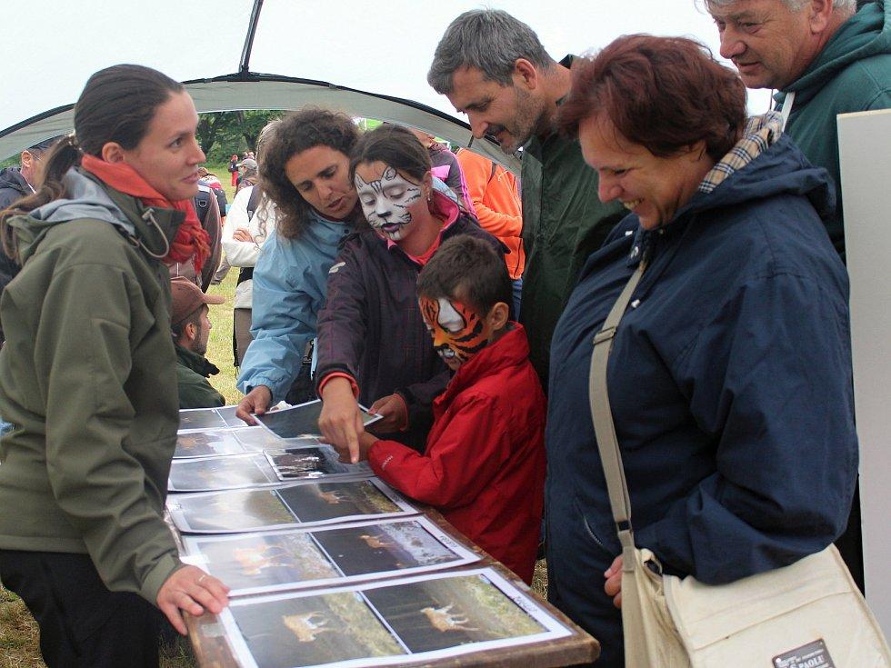 Den Národního parku Šumava u informačního centra Rokyta.
