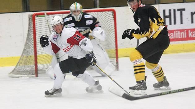 Přípravný zápas 2016: SHC Klatovy (bílé dresy) - HC Baník Sokolov 4:1