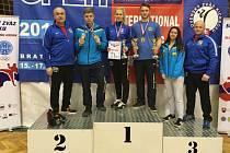 Klatovští zápasníci přivezli medaile z Bratislavy.