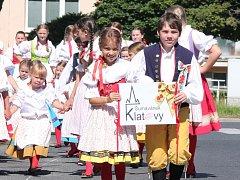 Mezinárodní folklorní festival v Klatovech - nedělní průvod městem