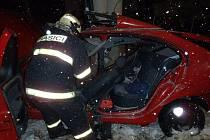 Dopravní nehoda u Chmelné