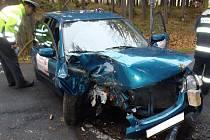 Dopravní nehoda u Nemilkova