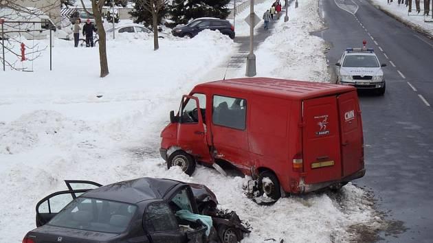 Nehoda v Sušici