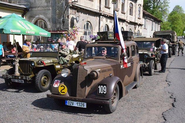 Oslavy 73. výročí osvobození v Pačejově