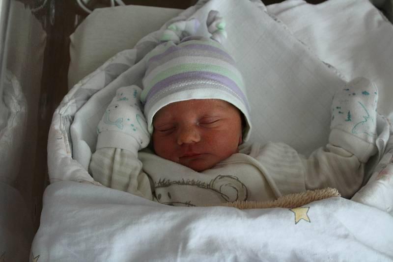 Alex Pešina ze Stráže u Tachova (2450 g, 47 cm) se narodil v plzeňské FN Lochotín 25. září v 5:18 hodin. Na světě ho společně přivítali rodiče Barbora a Tomáš. Doma na malého brášku čekali Daniel (16) a Patrik (12).