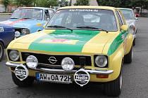 Rallye Wiesbaden 2018: pauza na oběd v Klatovech