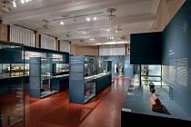 Výstava Uprostřed Koruny české (Muzeum Východních Čech vHradci Králové)  – I. tematický okruh.