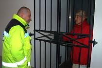 V sobotu zůstal na klatovské radnici uvězněný starší muž
