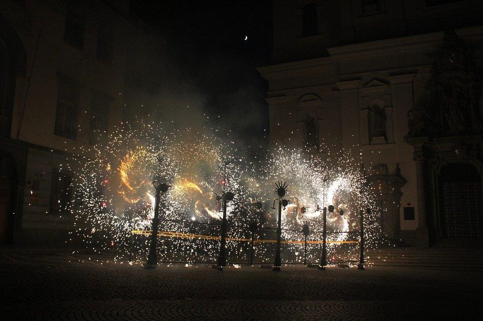 Barokní svatojánská noc v Klatovech 2020.